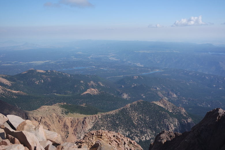 A View from Pikes Peak Summit